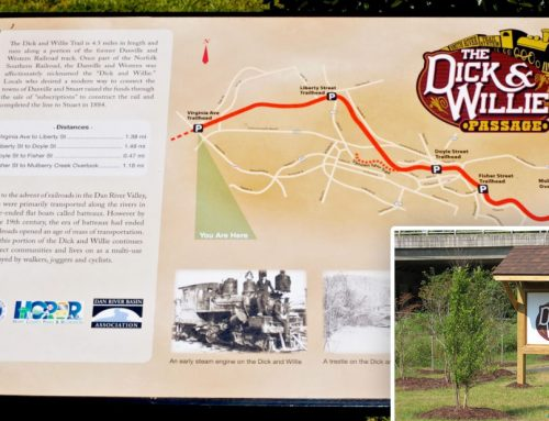 Martinsville, Henry County, VA, Dick & Willie Passage Rail Trail Phase-6 2015