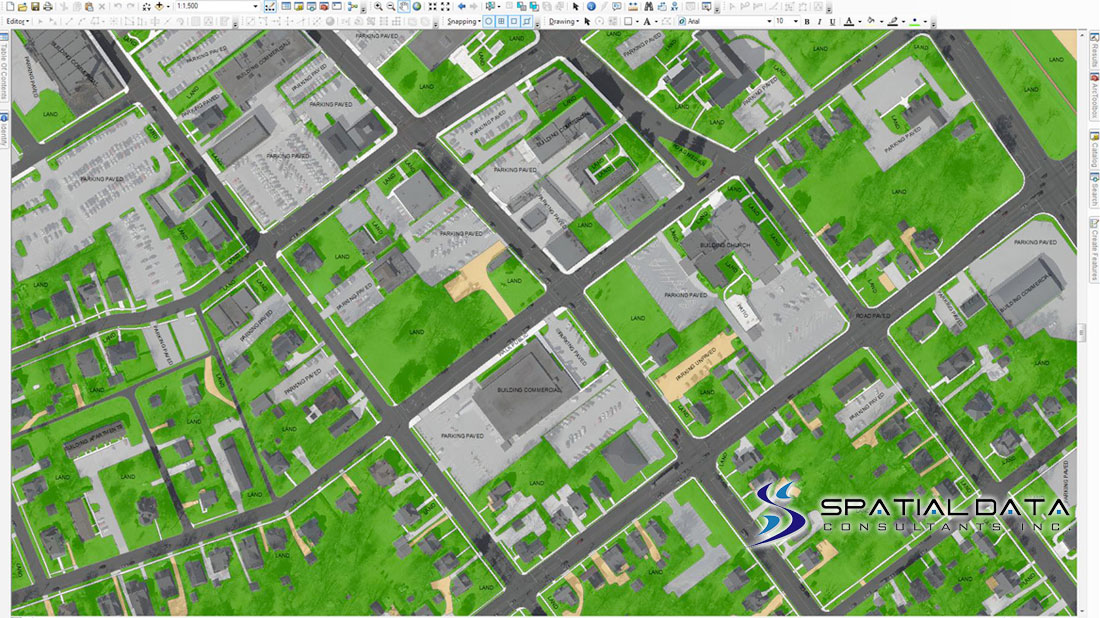 City of Greensboro, GIS Feature Update 2014