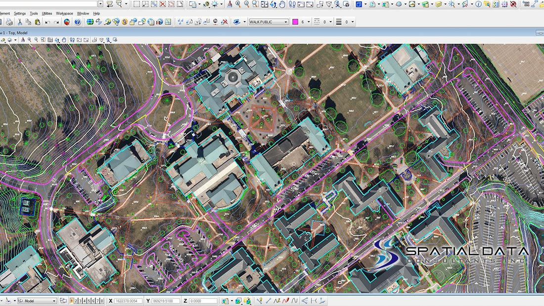 Wake Forest University, Reynolda Campus Engineering and GIS Base ...